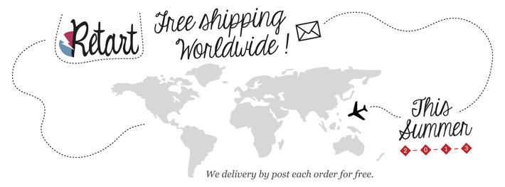 Retart – free shipping, poštovné zdarma