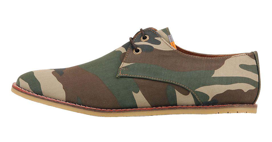 Frank Wright maskáčové boty, polobotky