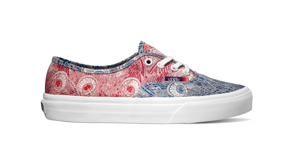 Vans-boty skvětinovým vzorem