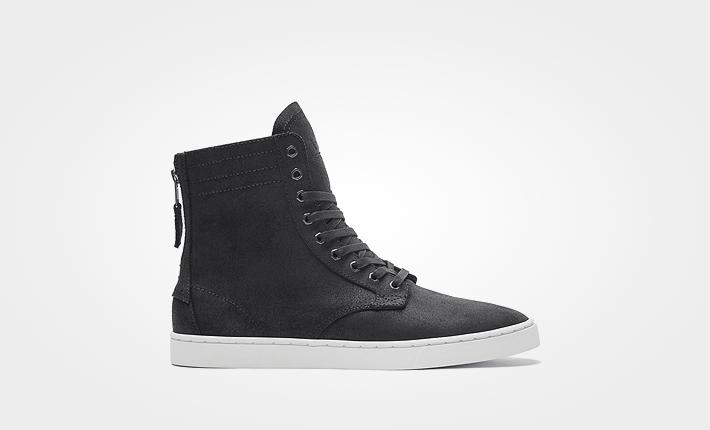 Supra boty Wolf Black-White dámské apánské kotníkové černé