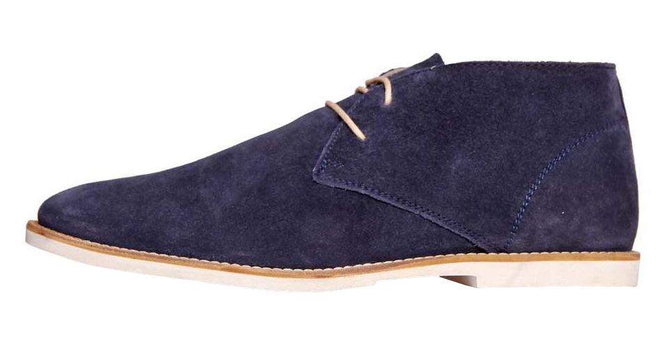 Frank Wright tmavě fialové semišové boty, polobotky, velur
