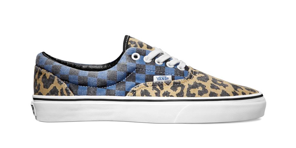Vans-boty sleopardím akárovaným vzorem