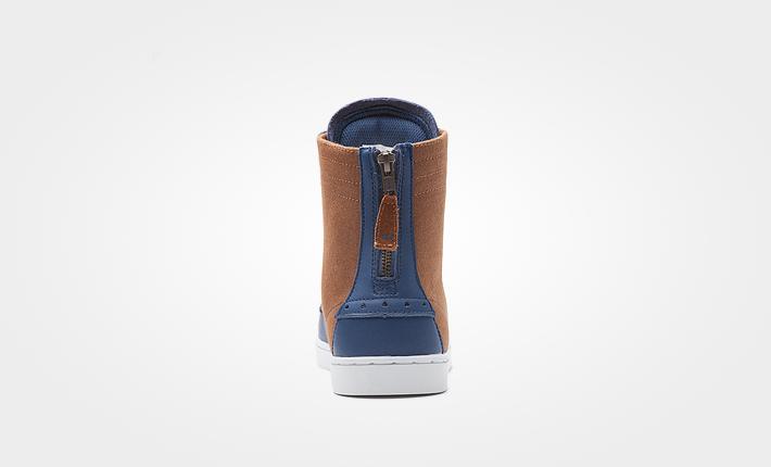 Supra boty Wolf Black-White dámské apánské kotníkové modro hnědé