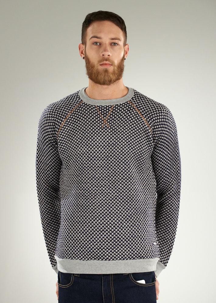 Supremebeing pletený svetr pánský