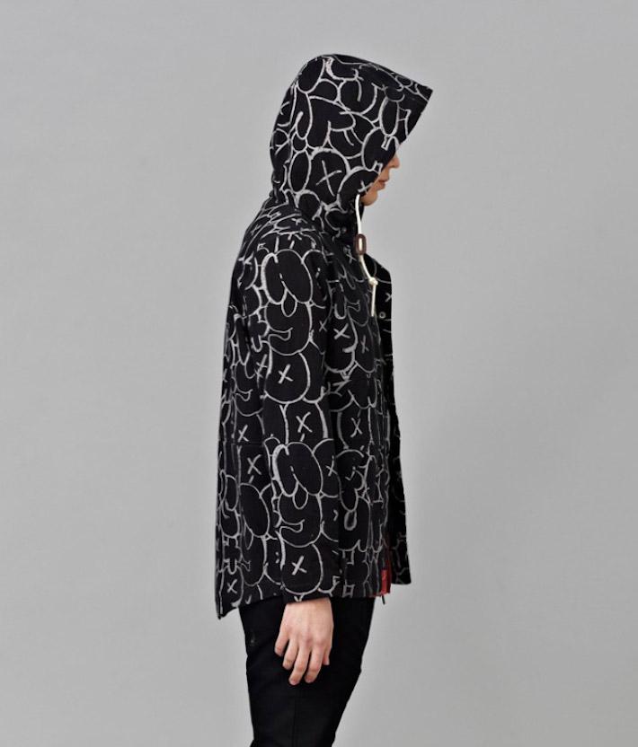 I Love Ugly kolekce Chalk černá pánská podzimní bunda