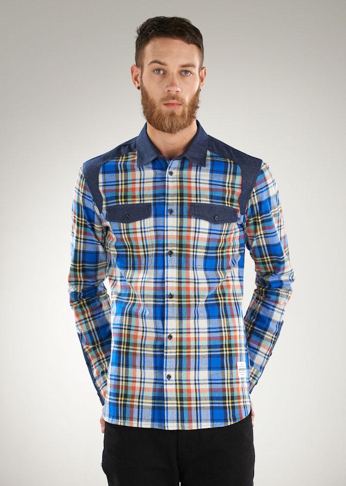 Supremebeing pánská károvaná košile