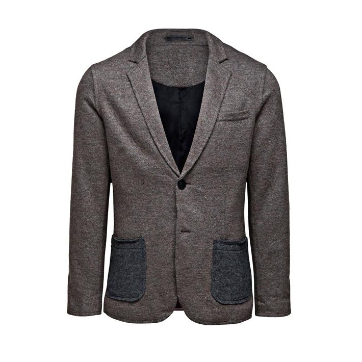 Jack & Jones pánské luxusní sako šedé