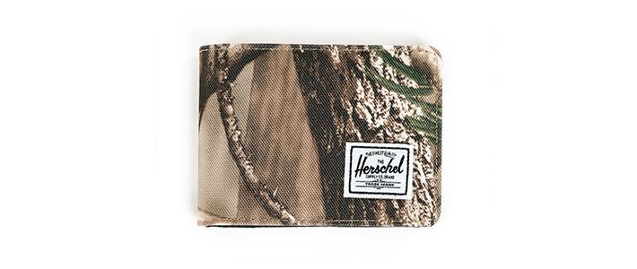 Herschel Supply Hank Realtree, Herschel peněženka smotivem listí