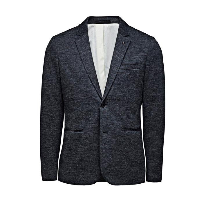Jack & Jones pánské luxusní sako tmavě šedé