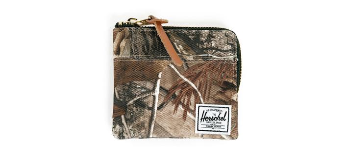 Herschel Supply Johnny Realtree, Herschel peněženka smotivem listí