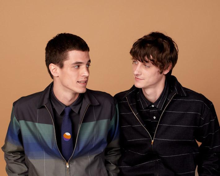 Sidian, Ersatz and Vanes pánské bundy se vzory, košile, kravata