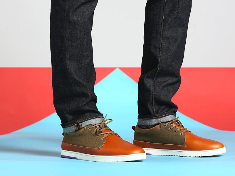 Clae – boty pánské, kožené, hnědé