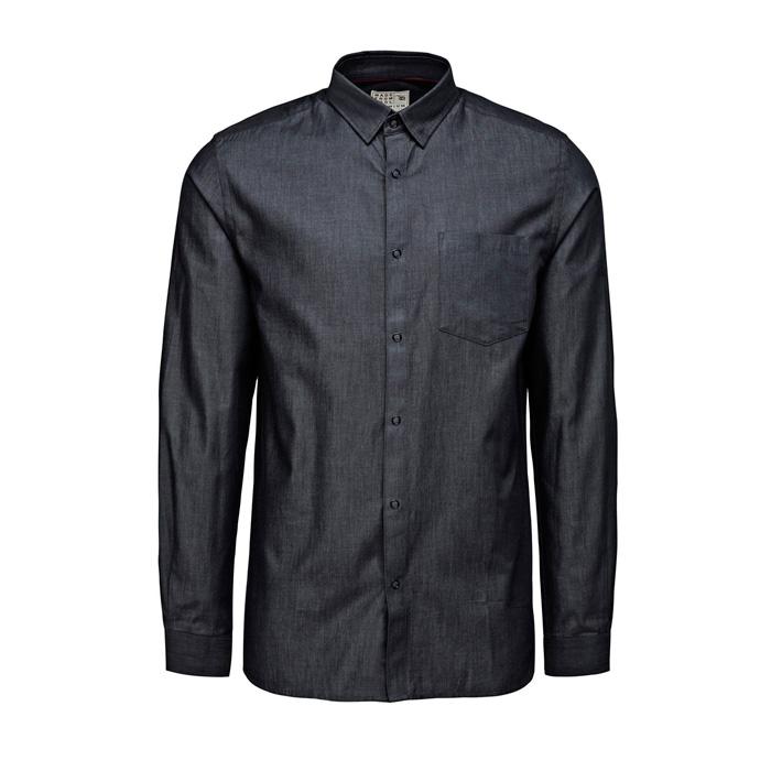 Jack & Jones luxusní košile pánská tmavě šedá