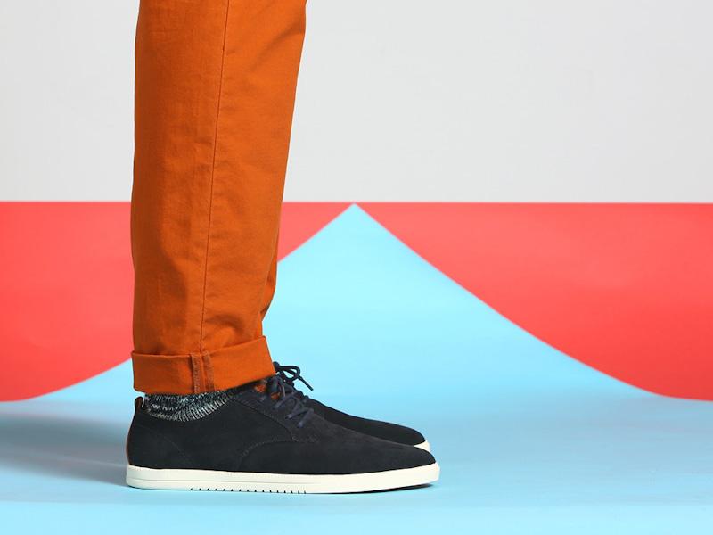 Clae – boty pánské, semišové, černé