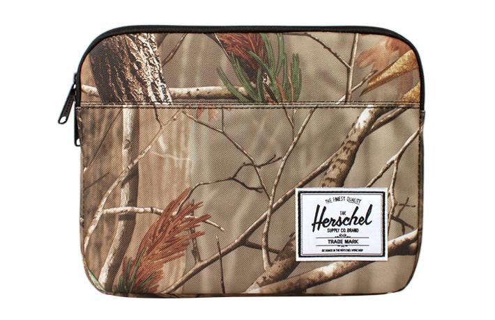 Herschel Supply Anchor Realtree, Herschel pouzdro pro iPad, smotivem listí
