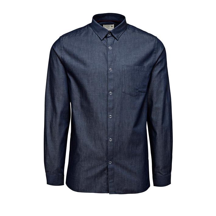 Jack & Jones luxusní košile pánská tmavě modrá