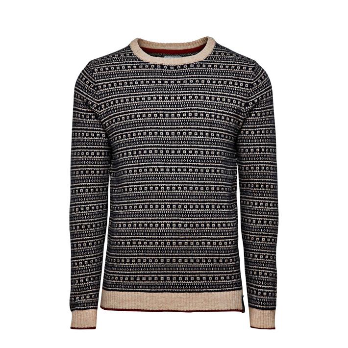 Jack & Jones luxusní pletený svetr pánský, se vzorem