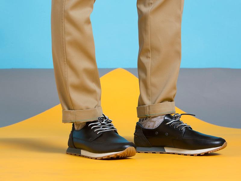Clae – boty pánské, kožené, černé