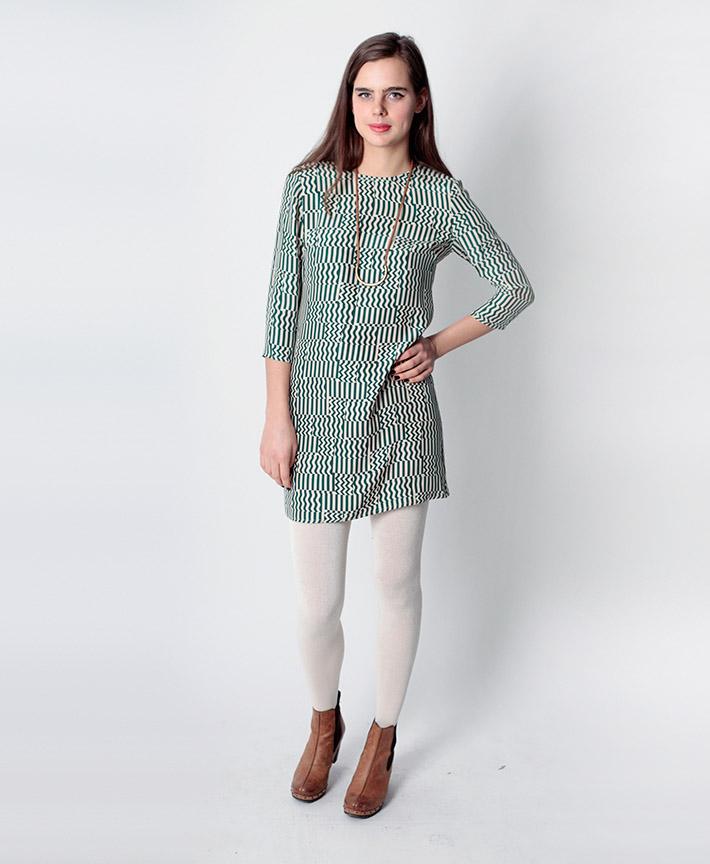Dusen Dusen dámské šaty, geometrický vzor