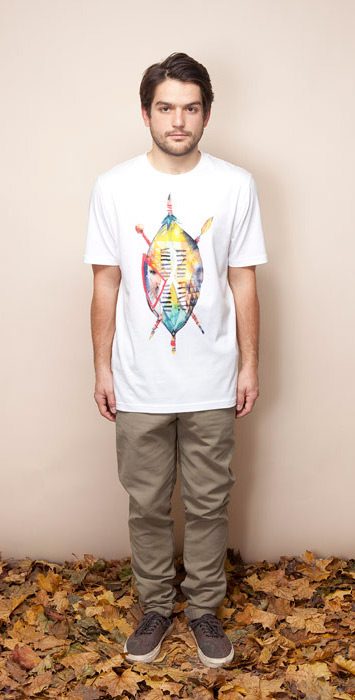 Ucon Acrobatics pánská bordó košile, dlouhý rukáv, hnědé kalhoty