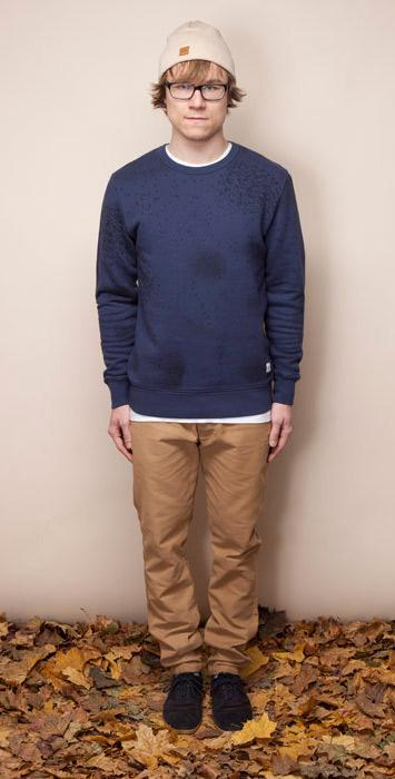 Ucon Acrobatics modro-hnědá vesta pánská, hnědé kalhoty