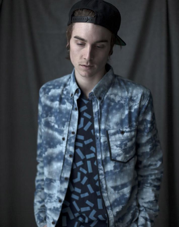 Volklore pánská košile se vzorem, tričko se vzorem