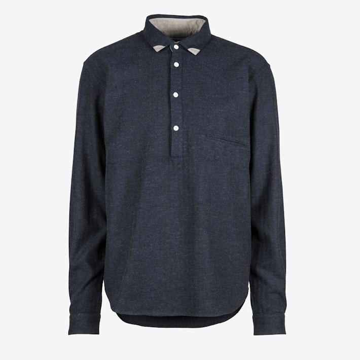 Frisur temně modrá košile pánská