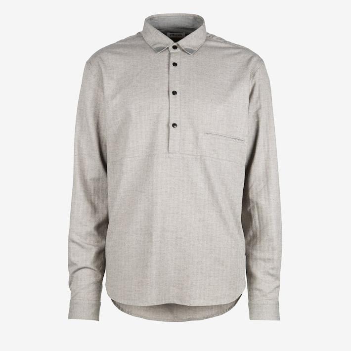 Frisur pánská košile světle šedá