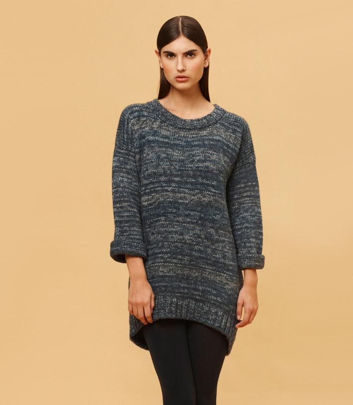 Libertine Libertine dámský dlouhý pletený svetr