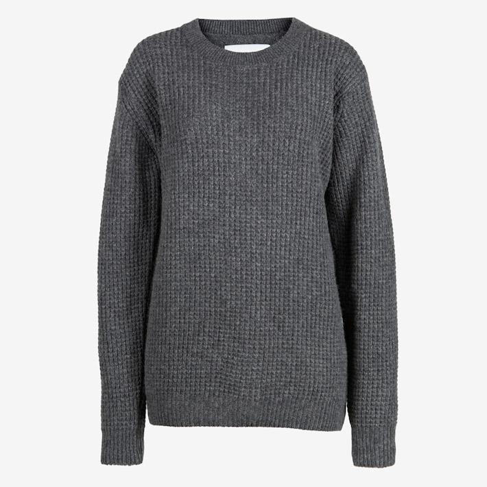 Frisur šedý dámský pletený svetr