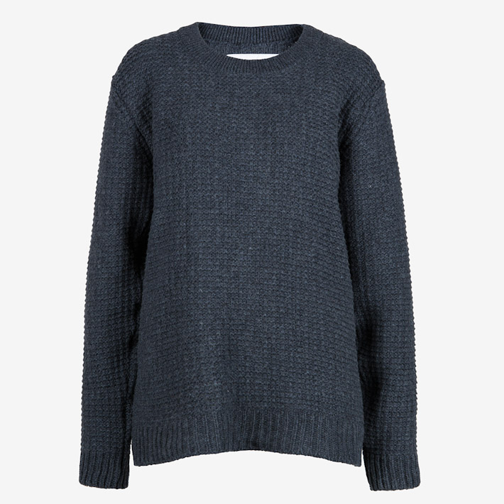 Frisur tmavě šedý pletený svetr dámský