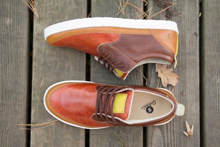 Splendix Shoes vycházkové pánské kožené boty, hnědá barva