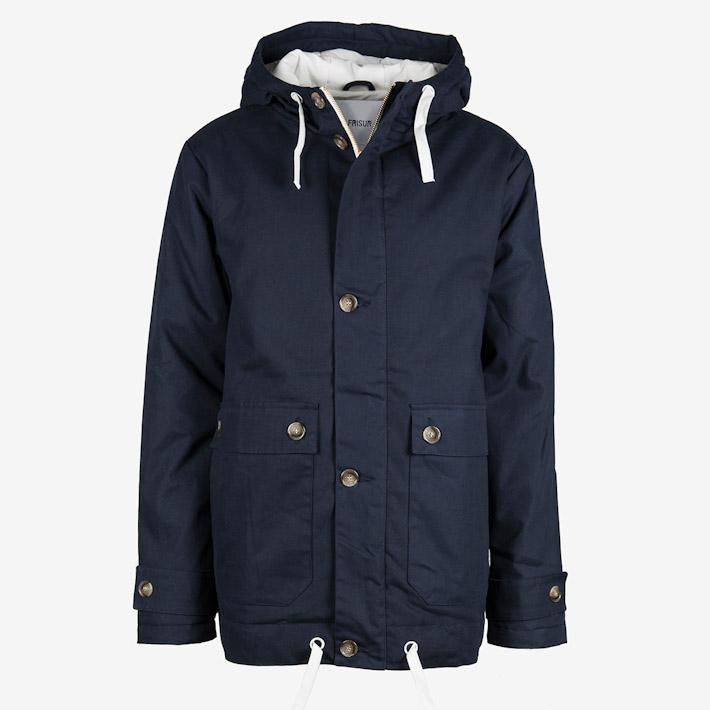 Frisur tmavě modrá zimní bunda, parka pánská