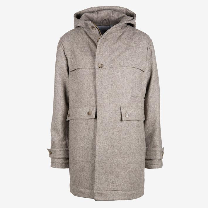 Frisur pánský zimní kabát