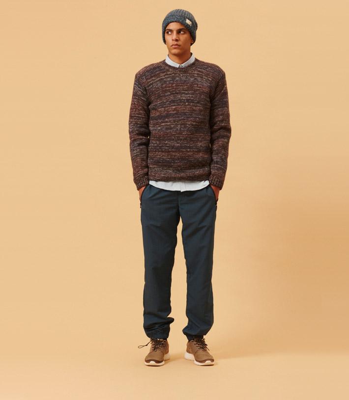 Libertine Libertine pánský pletený svetr, modré kalhoty