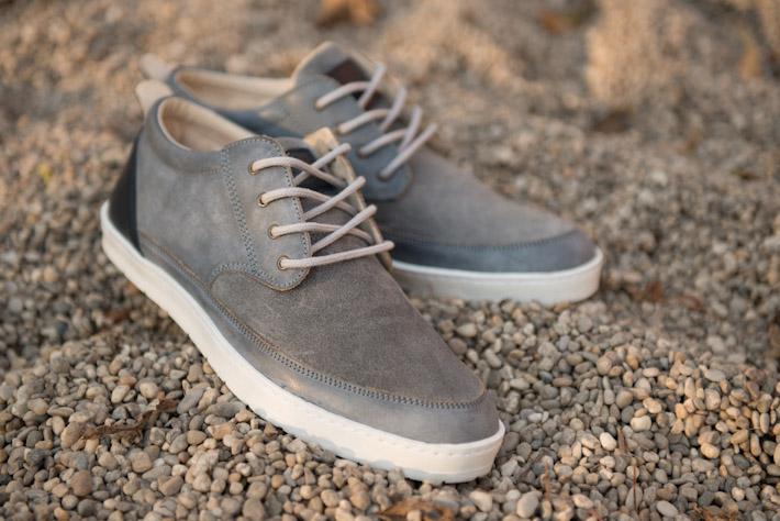 Splendix Shoes šedé boty, pánské, kožené, tenisky