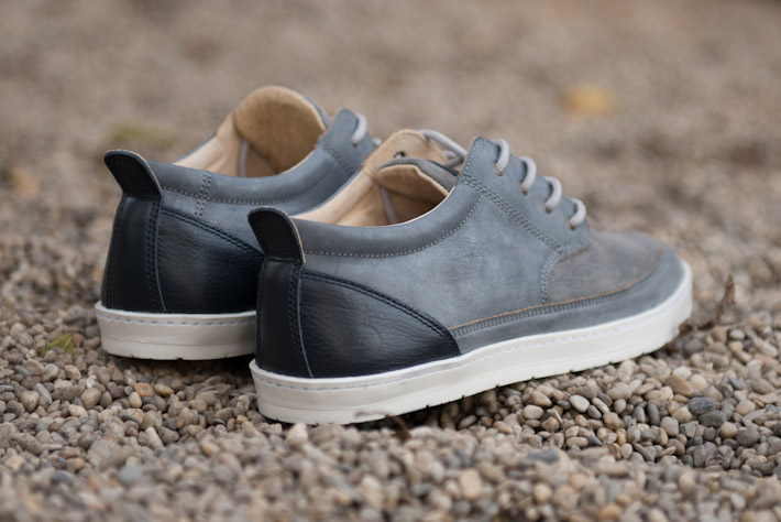 Splendix Shoes pánské šedé boty zkůže, tenisky