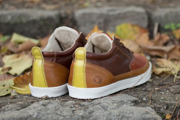 Splendix Shoes hnědé teplé kožené boty, pánské