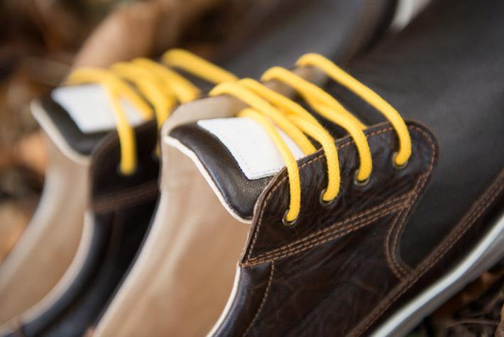 Splendix Shoes tmavě hnědé kožené boty