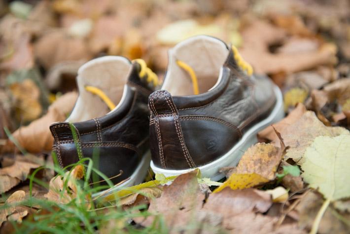 Splendix Shoes hnědé vycházkové tenisky, kožené