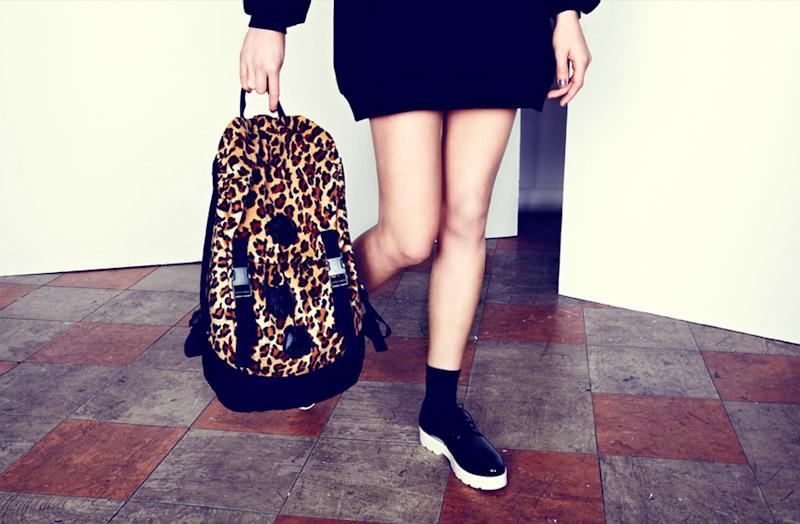 Lazy Oaf leopardí batoh