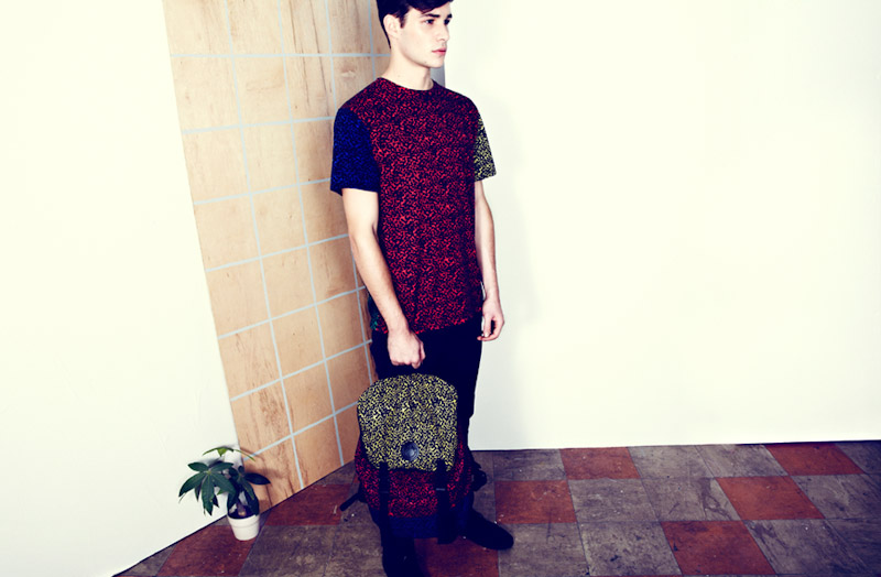 Lazy Oaf leopardí batoh, leopardí tričko
