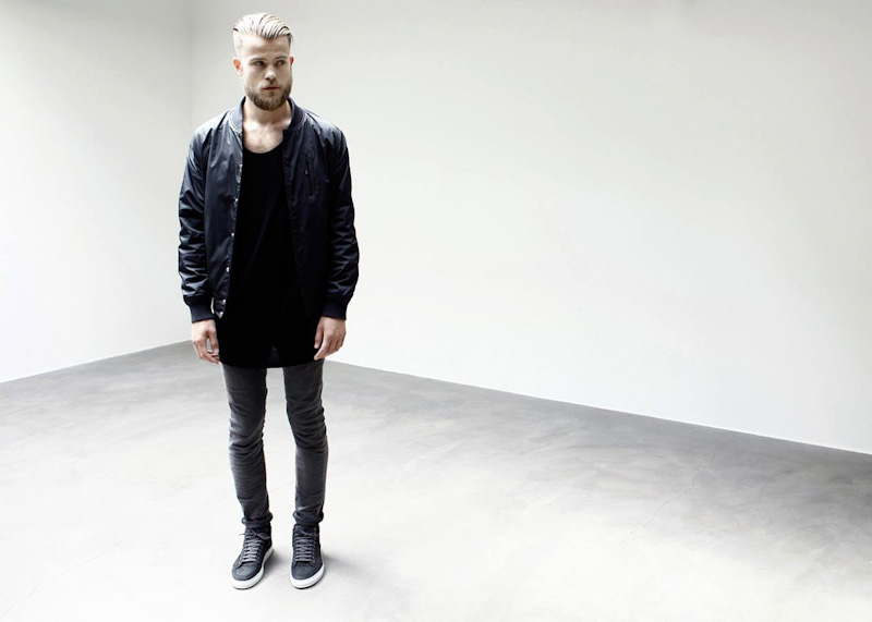 ETQ Amsterdam luxusní kotníkové boty tmavě šedé