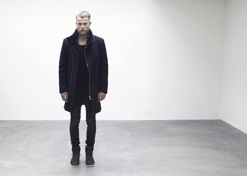 ETQ Amsterdam tmavě šedé vysoké zimní boty