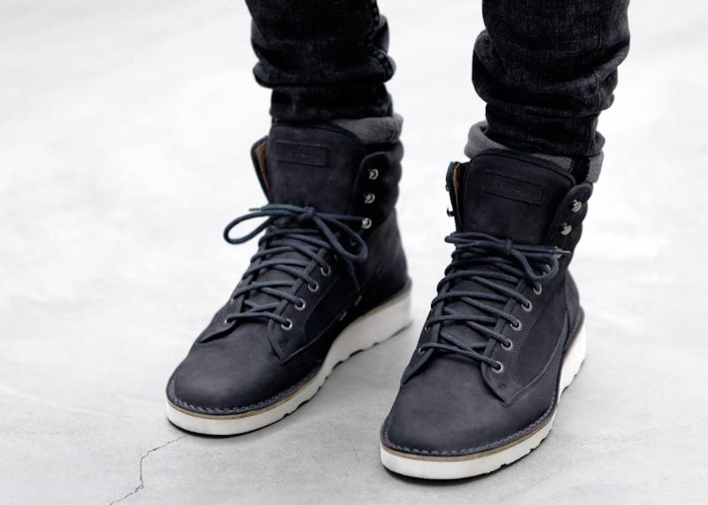 ETQ Amsterdam luxusní šedé vysoké zimní boty