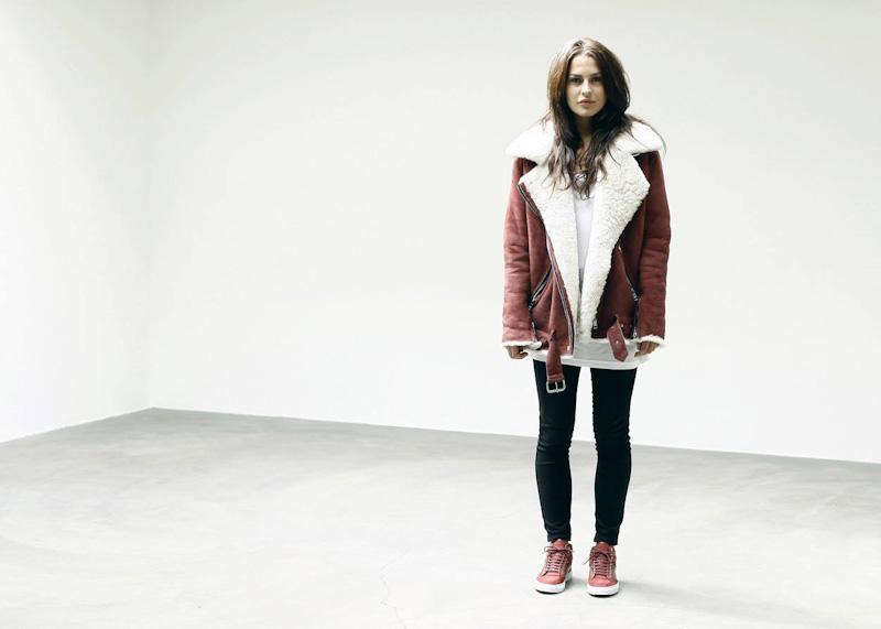 ETQ Amsterdam červené kotníkové boty