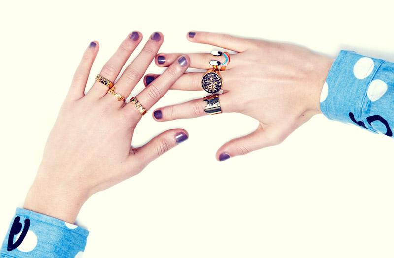 Lazy Oaf prsteny, prstýnky