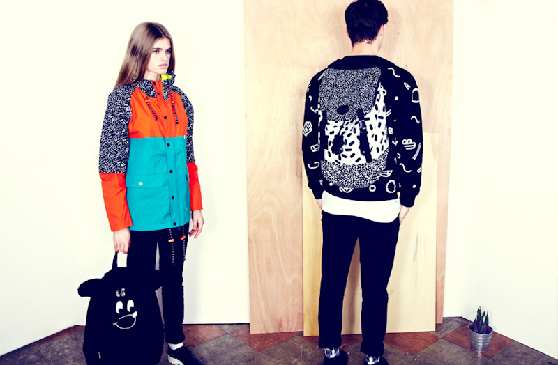 Lazy Oaf dámská zimní bunda, batoh, pánská mikina