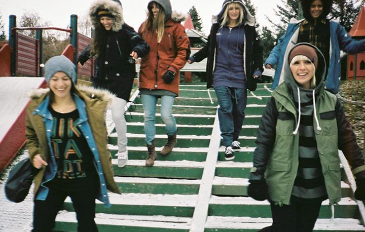 Dámské zimní bundy a parky značky Nikita