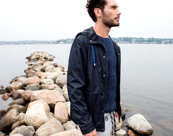 Anerkjendt – modrá jarní bunda – pánská